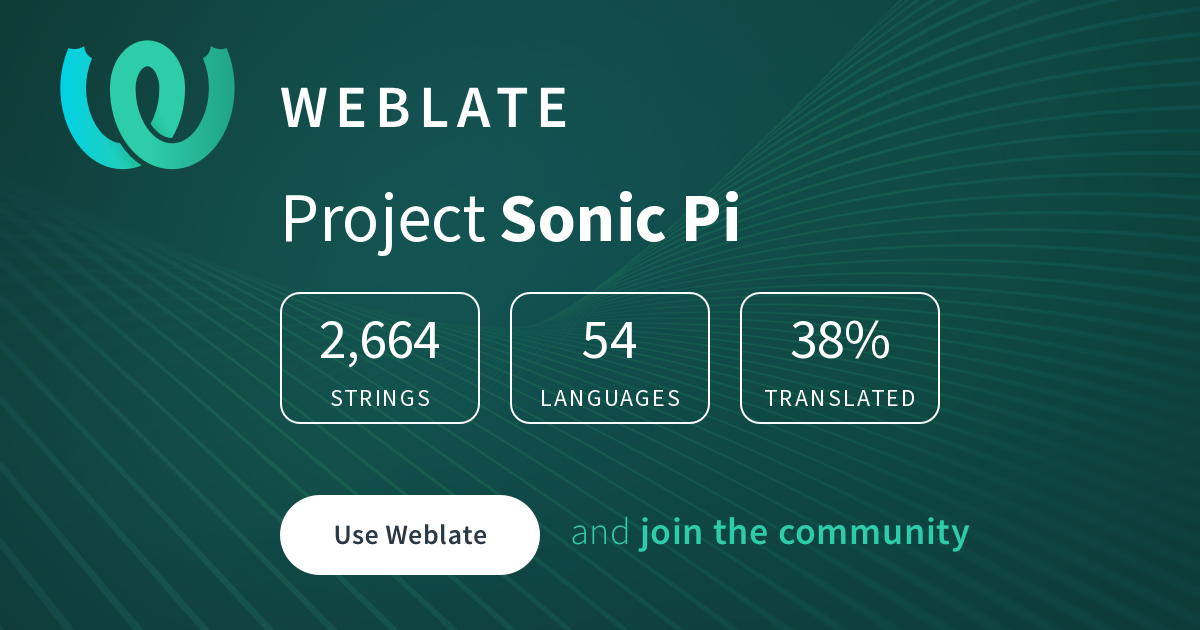 Sonic Pi/Tutorial - Russian @ Hosted Weblate